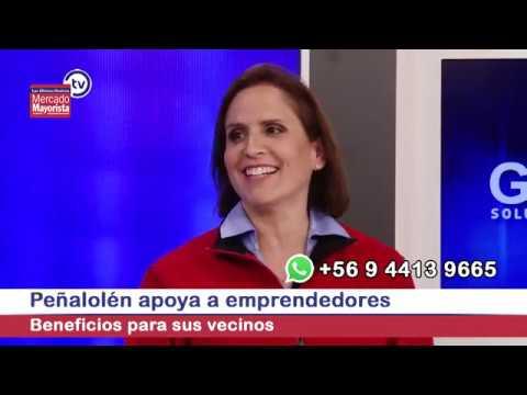 La comuna de Peñalolén entrega beneficios a sus vecinos emprendedores