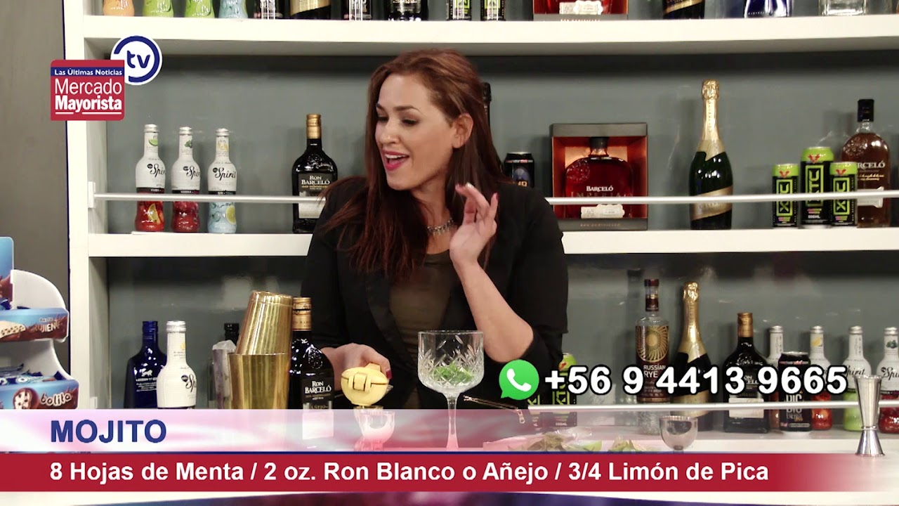 "Prepara un ""Mojito Polaco"" junto al bar de Mercado Mayorista TV"