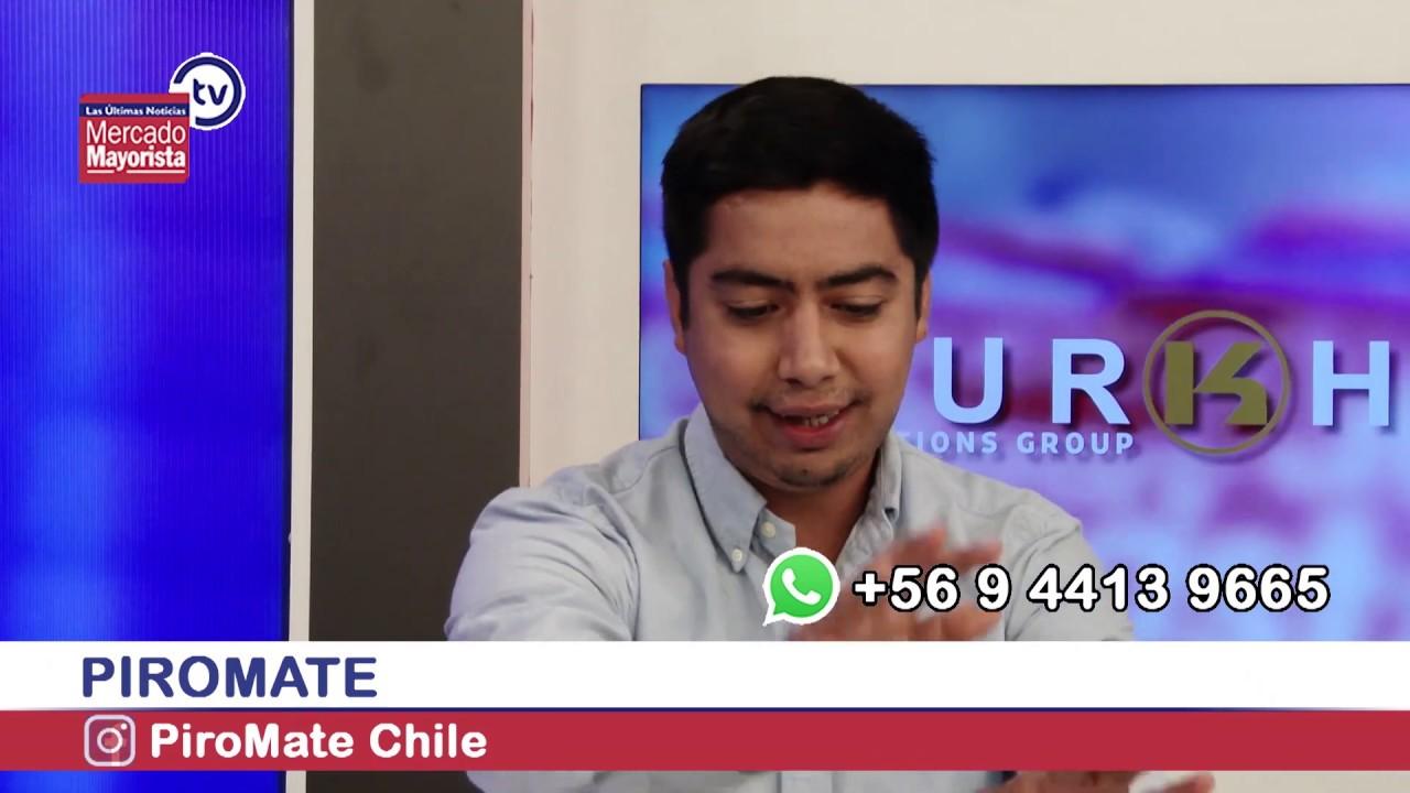 """Piromate"": Bebidas a base de yerba mate chilena"