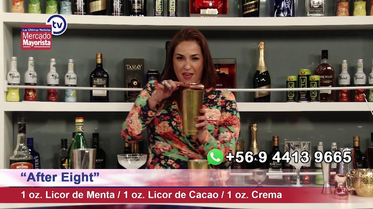 """Prepara un """"After Eight"""" junto al bar de Mercado Mayorista TV."""