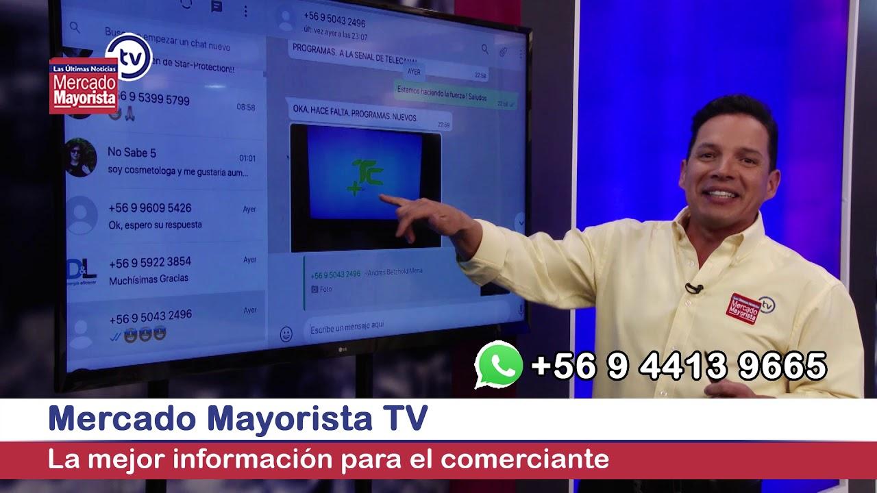 Aquí comienza Mercado Mayorista TV