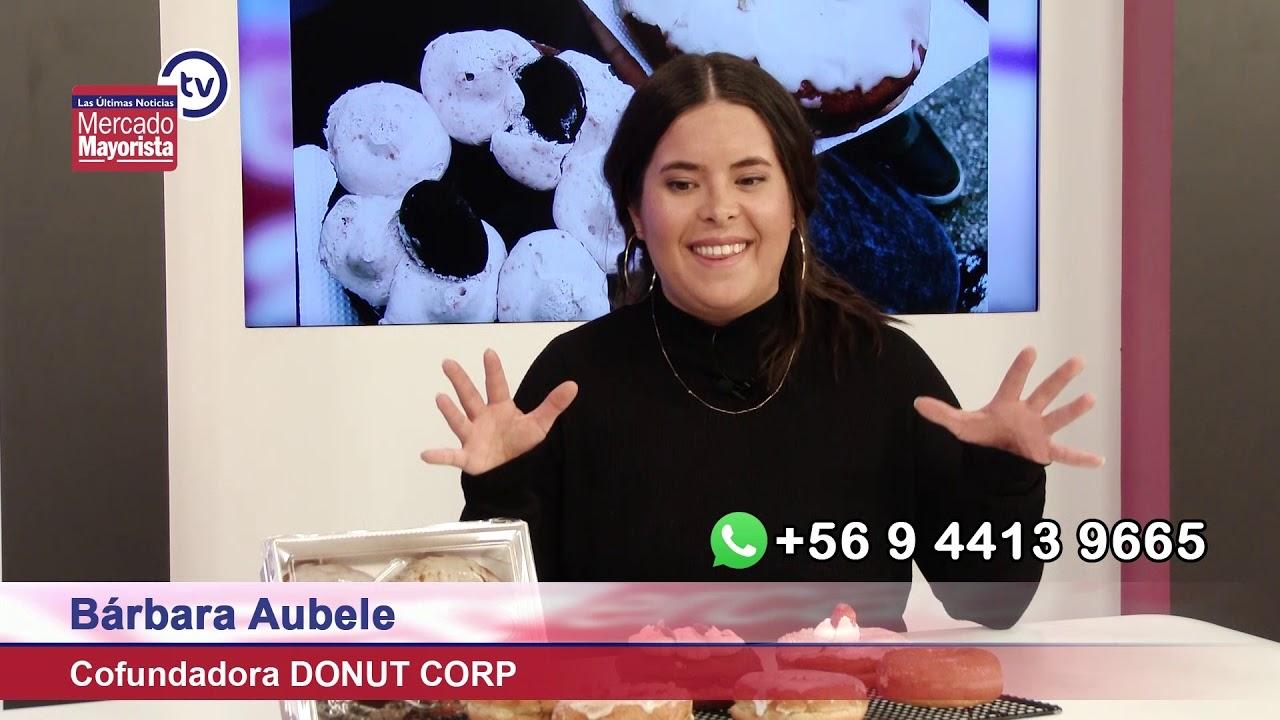 """""""Donut Corp"""" nos trae donas artesanales y veganas para comer sin culpa"""