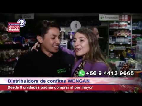 "Distribuidora ""Wengan""  ofrece todo tipo de confiterías"