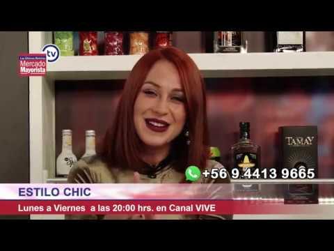 """Ingrid Aceitón aprende a preparar un """"Ron Fashioned"""" en el bar de Mercado Mayorista TV"""