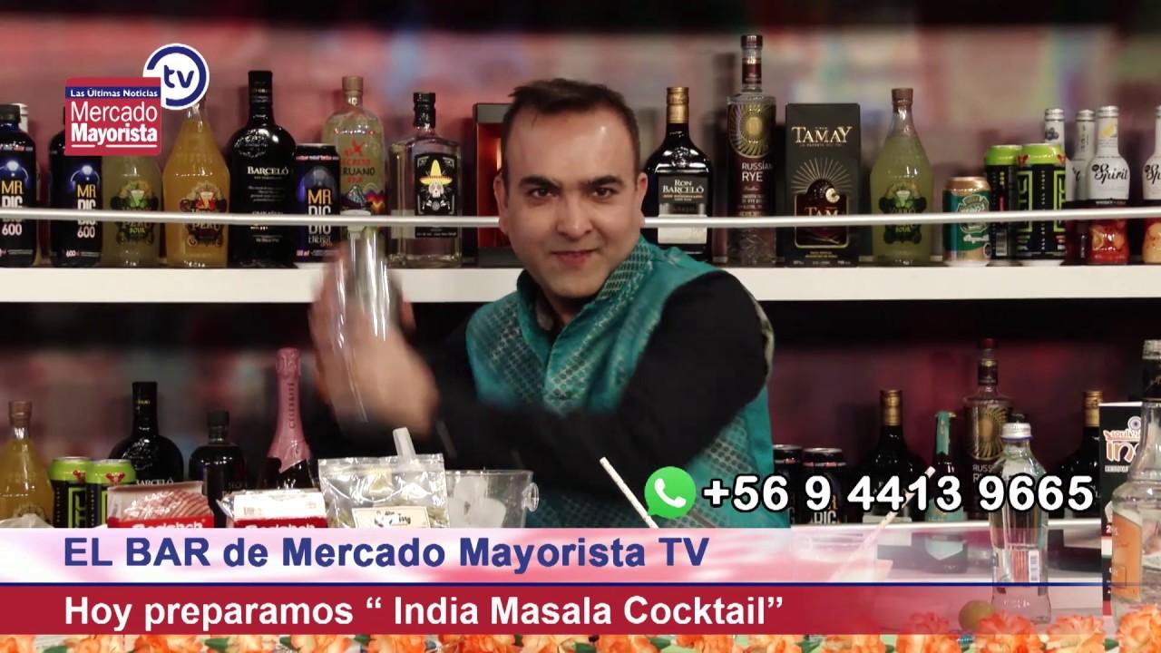 """Aprende a preparar un """"India Masala Cocktail"""" junto a Haresh Dharamdasani"""