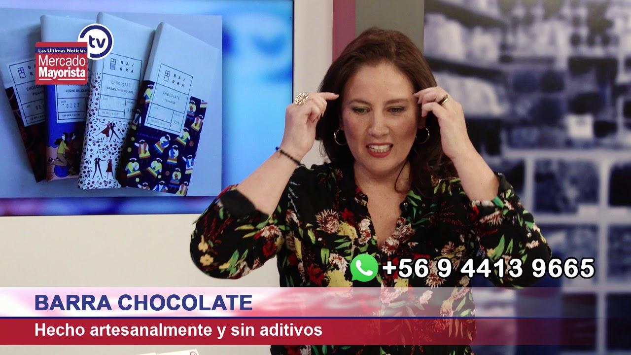 """Barra Chocolate"" es 100% artesanal con verdadero sabor a cacao"