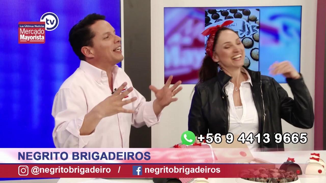 """""""Negrito Brigadeiros"""" nos trae la primera brigadería gourmet de Chile"""
