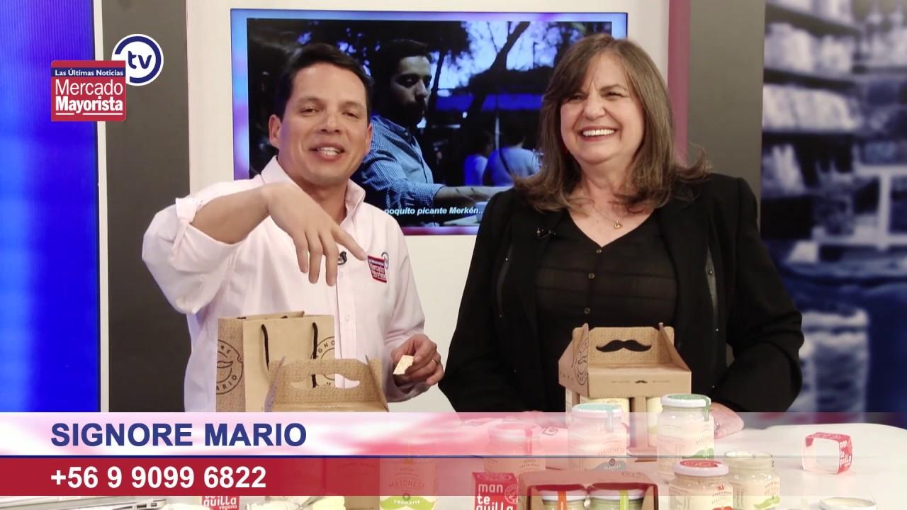 """""""Signore Mario"""" nos trae mayonesas y mantequillas veganas saludables"""