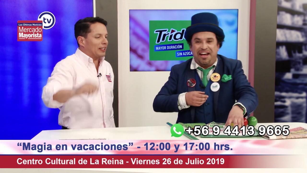 """Simón Ermago"" nos trae toda la magia a Mercado Mayorista TV"