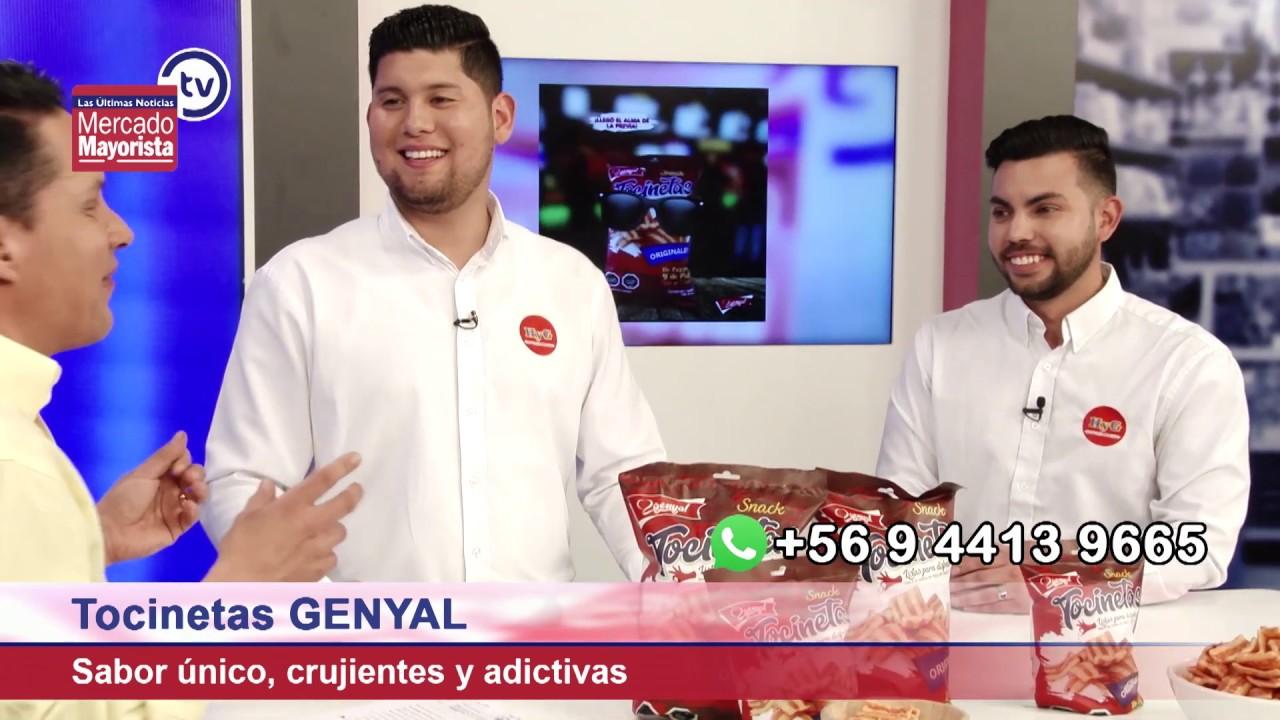 """""""Genyal"""" revoluciona el paladar de los chilenos con su nuevo snack de tocinos"""