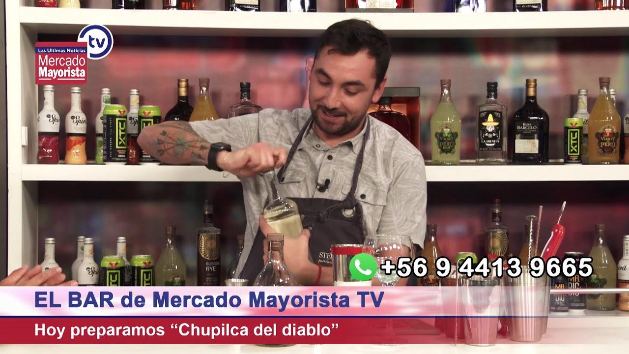 """Prepara una buena """"Chupilca del Diablo"""" junto al bar de Mercado Mayorista TV"""