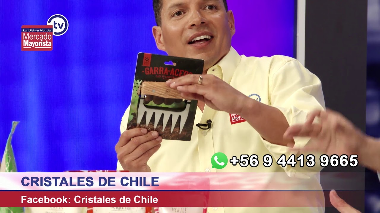 """""""Cristales de Chile"""" se dedica a la venta de sal de mina gourmet y artesanal"""