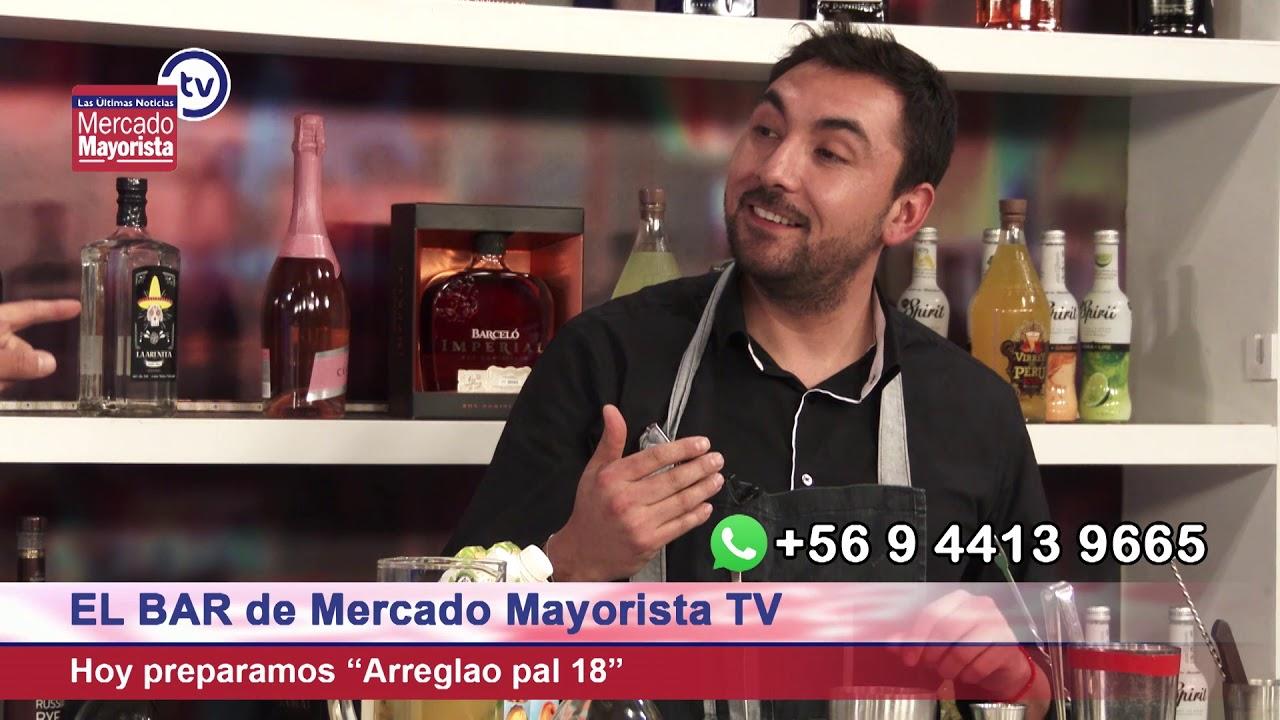 """Prepara un """"Arreglao pal 18"""" junto al bar de Mercado Mayorista TV"""