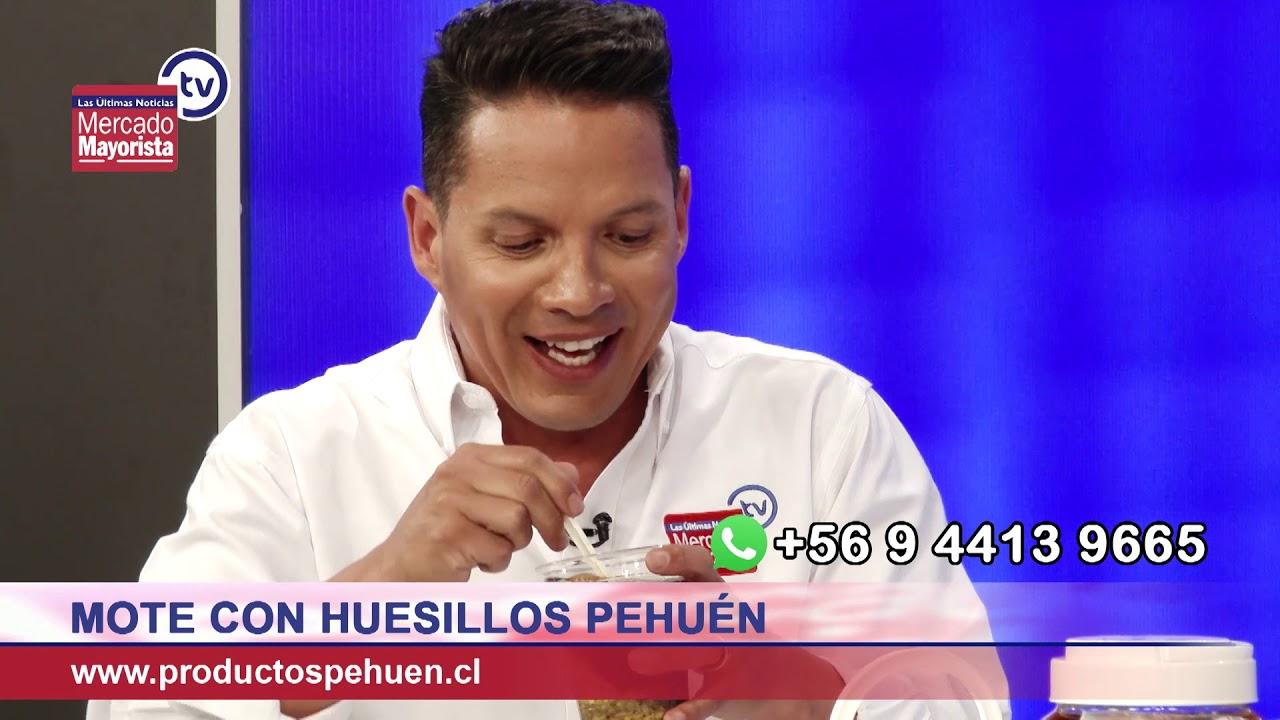 """""""Pehuén"""" elabora nuestro tradicional Mote con Huesillo"""
