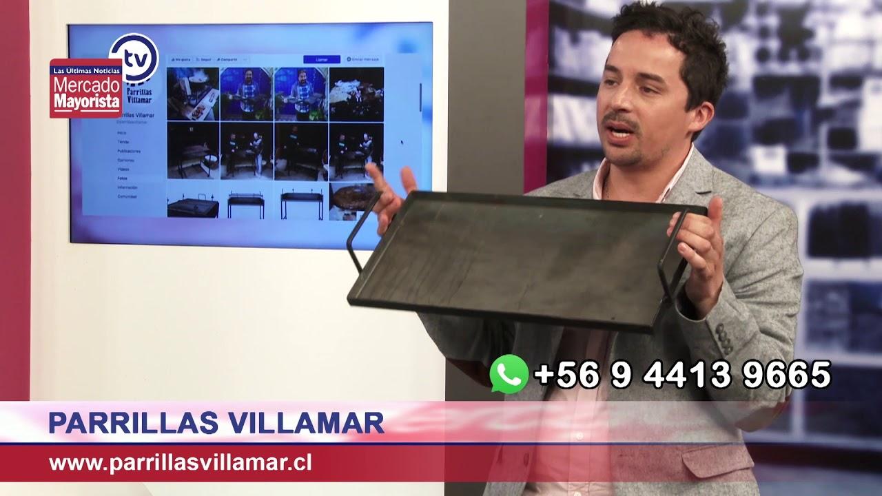 """""""Parrillas Villamar"""" fabrica y vende parrillas para asados en distintos formatos"""