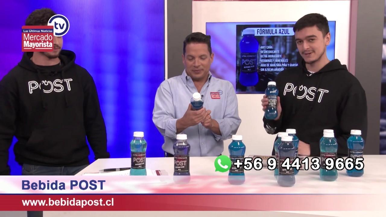 """POST"" la nueva bebida isotónica para combatir la resaca"