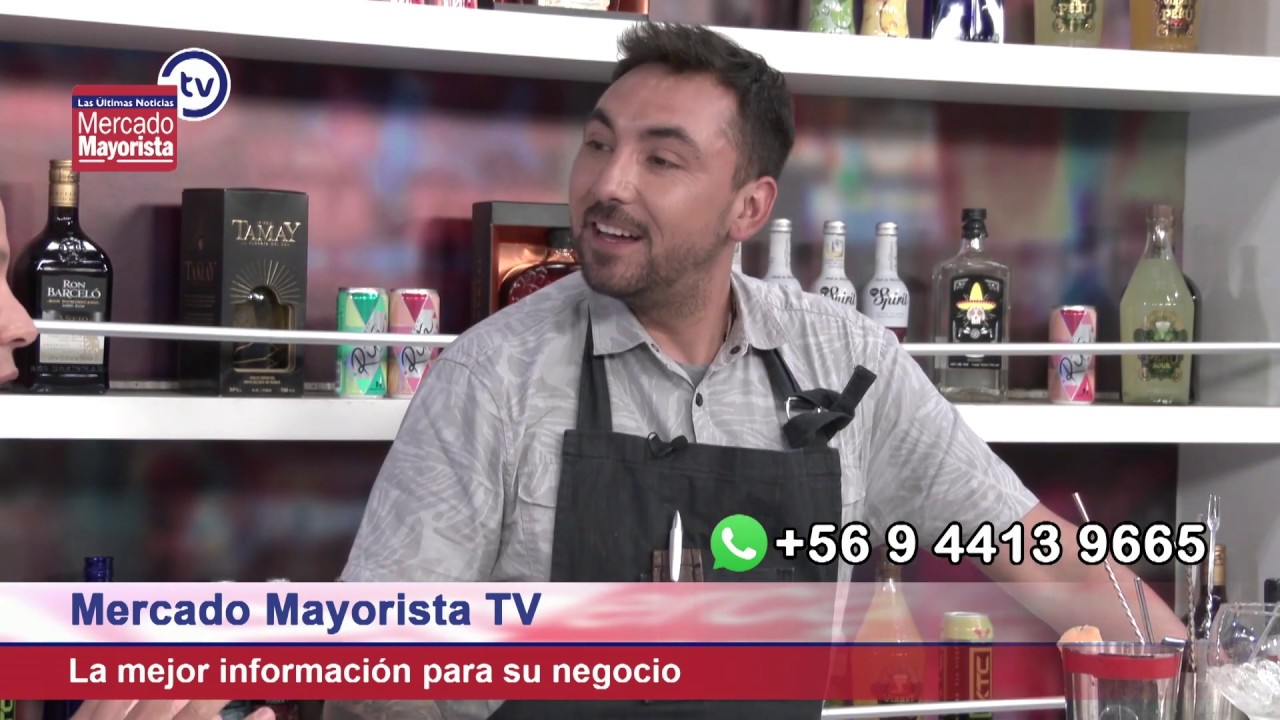 """Prepara un """"Sweet & Mate"""" junto al bar de Mercado Mayorista TV"""