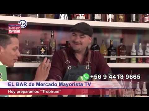 """Prepara un """"Tropirum"""" junto al bar de Mercado Mayorista TV"""