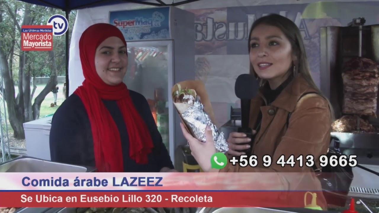 """""""Lazeez"""" ofrece lo mejor en comida árabe en la comuna de Recoleta"""