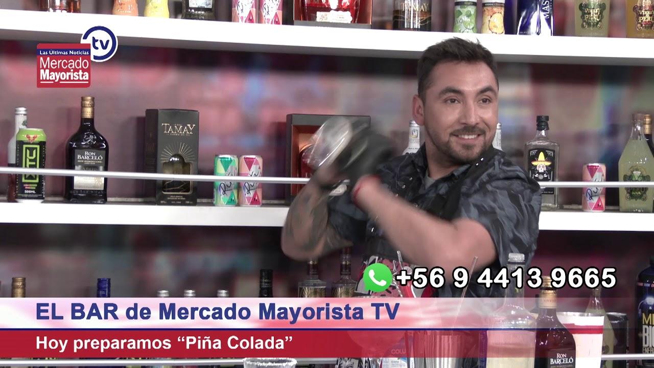 """Prepara una """"Piña Colada"""" junto al bar educativo de Mercado Mayorista TV"""