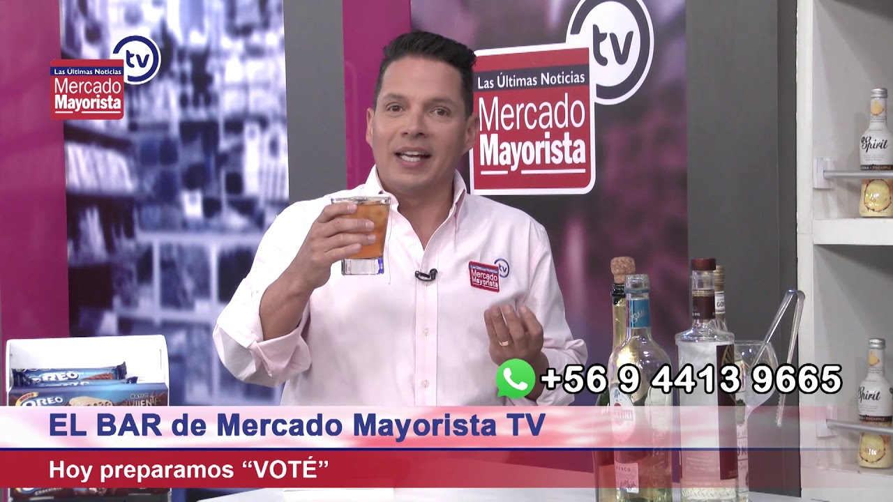 "Prepara un ""Voté"" junto al bar de Mercado Mayorista TV"