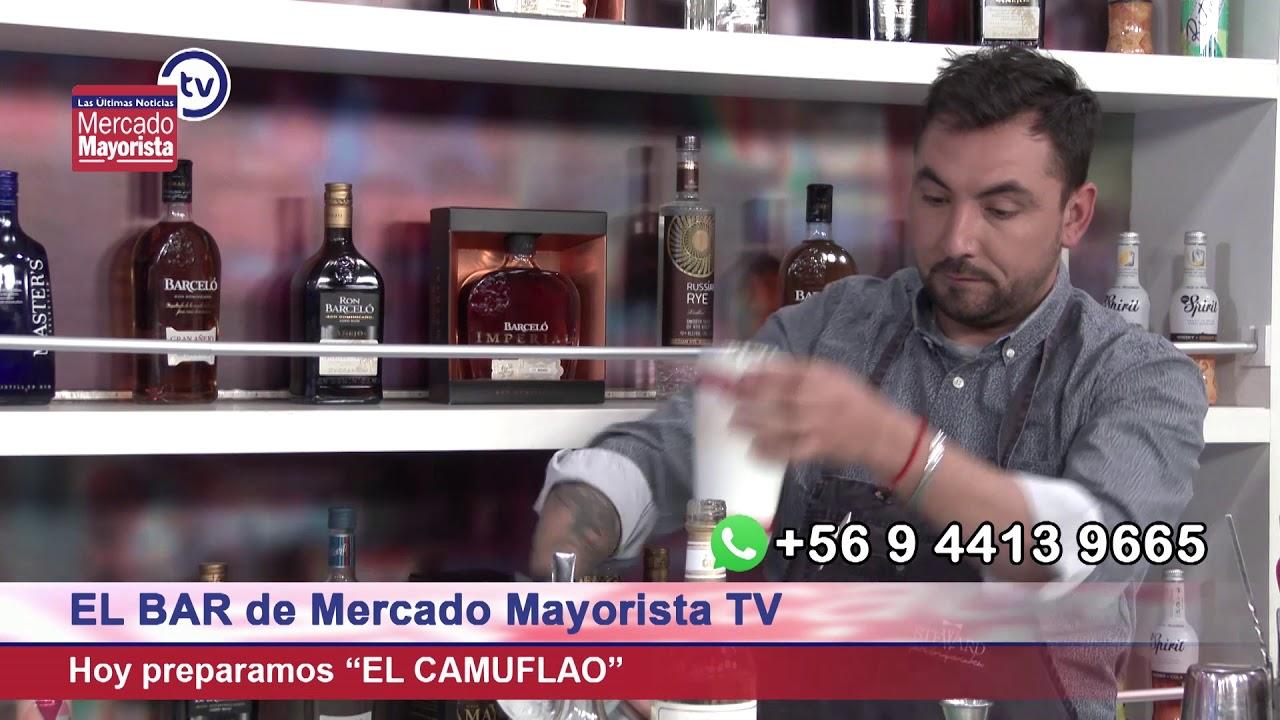 """El Camuflao"": Novedoso cóctel a base de té early grey"