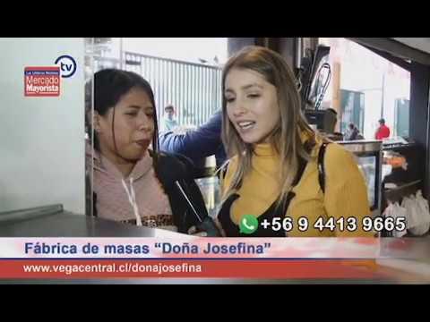 """""""Doña Josefina"""": Fabrica todo tipo de masas en La Vega Central"""