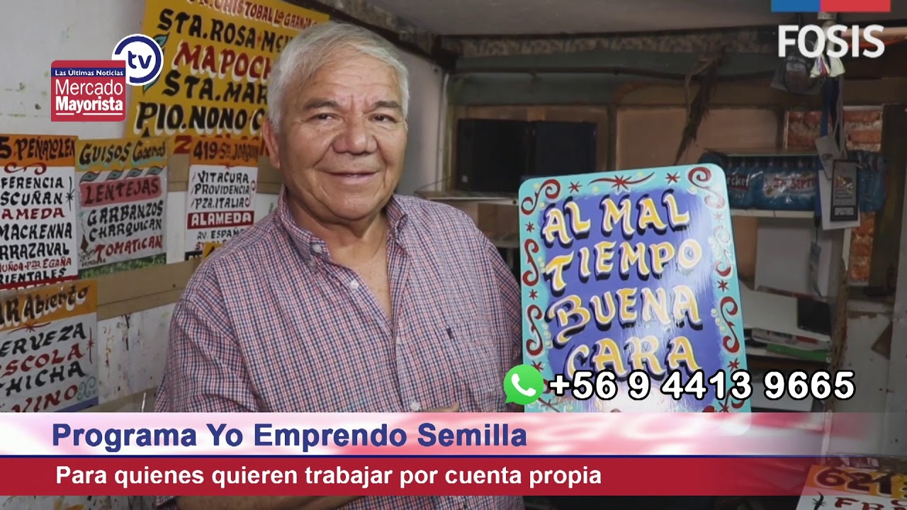 """""""Fosis Chile"""" apoya a emprendedores desde cero con su programa """"Yo Emprendo Semilla"""""""