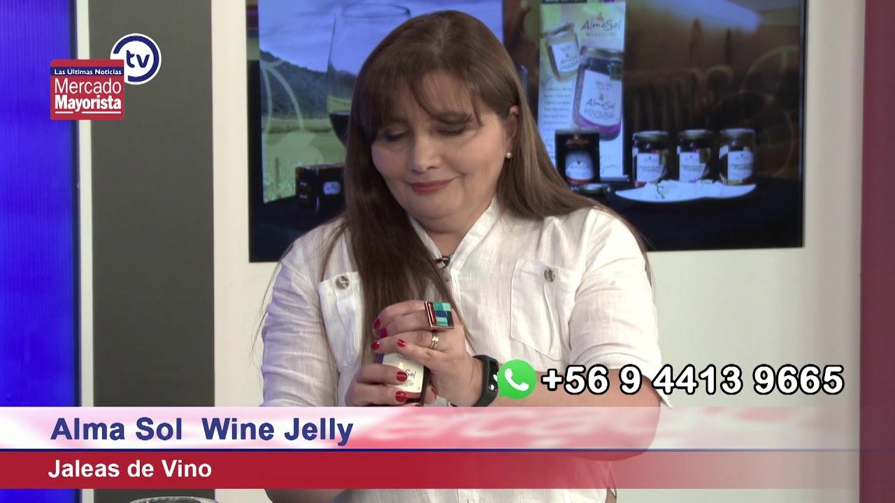 """Alma Sol"" elabora jaleas de vino, ideal para tus comidas"